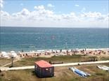 Вид на пляж, первая линия